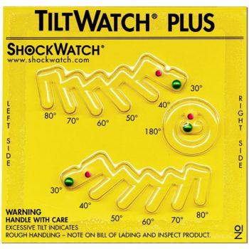 Indicador de inclinação Tiltwatch